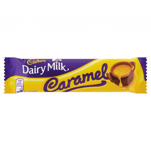 Cadbury Dairy Milk Caramel Chocolate Bar 45g